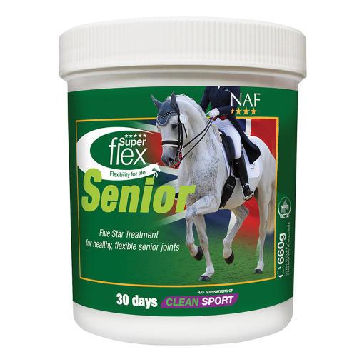NAF Five Star Superflex Senior  Horse Supplement
