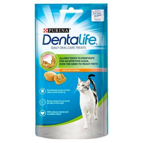 Purina Dentalife Chicken Adult Cat Treats