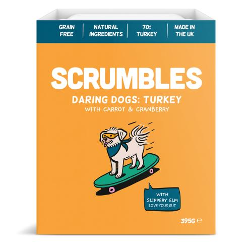 Scrumbles Turkey Wet Adult Dog Food