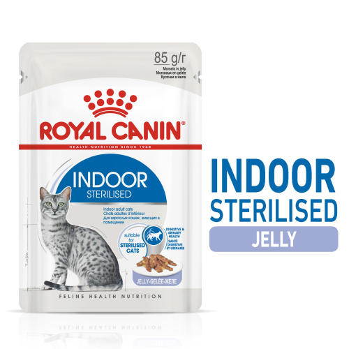 Royal Canin Indoor Sterilised In Jelly Adult Wet Cat Food