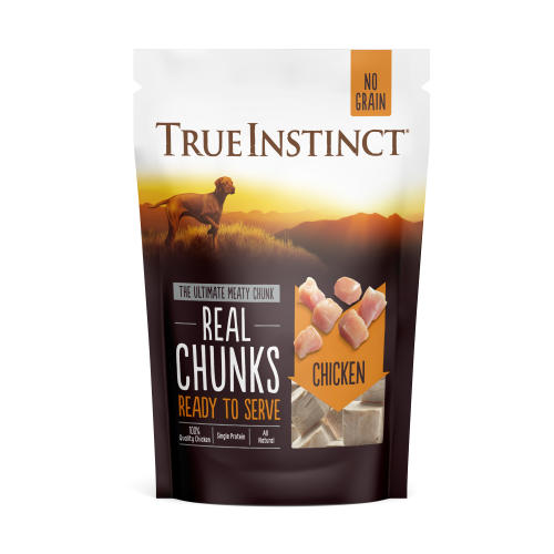 True Instinct Freeze Dried Chicken Real Chunks Dog Food