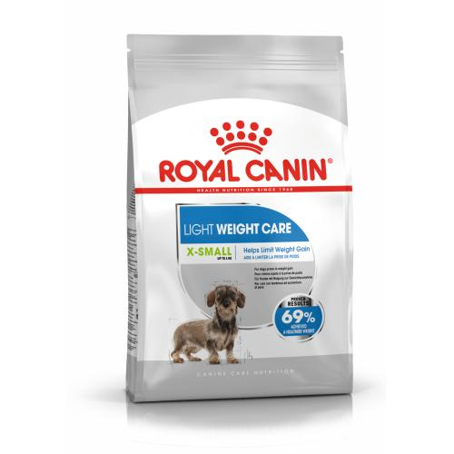 Royal Canin X-Small Light Weight Care Dry Adult Dog Food