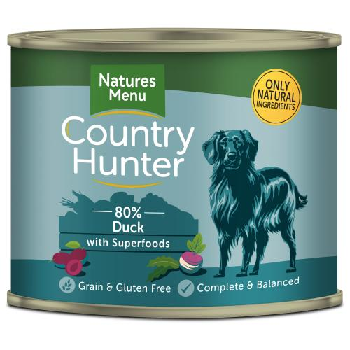 Natures Menu Country Hunter Duck Adult Dog Food Cans