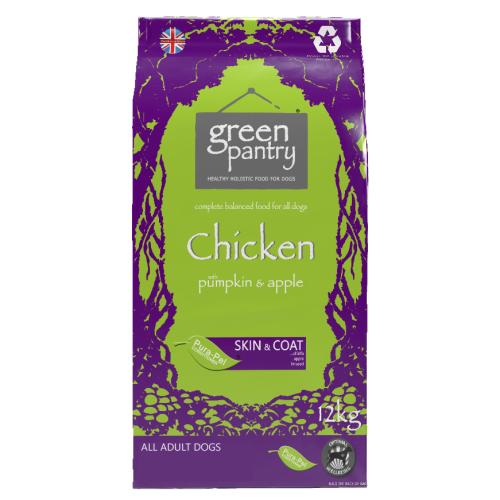 Green Pantry Chicken with Pumpkin & Apple Dry Dog Food