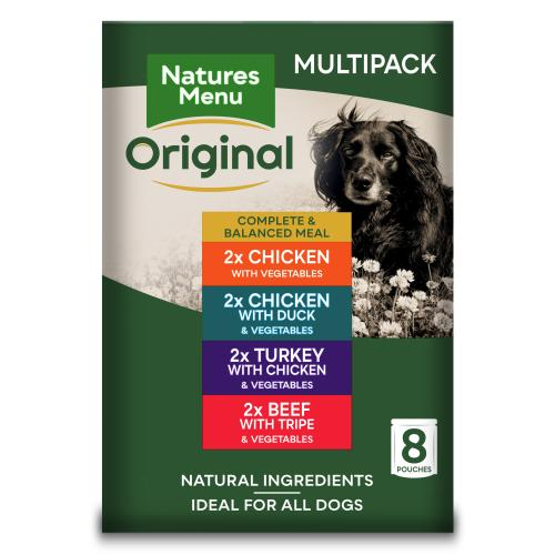 Natures Menu Multipack Adult Dog Food Pouches