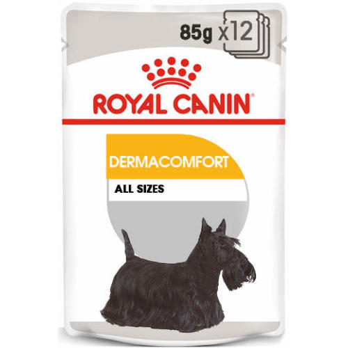 Royal Canin Dermacomfort Wet Adult Dog Food Pouches