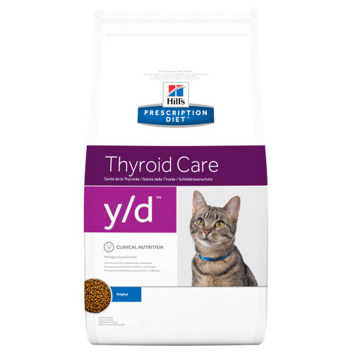 Hills Prescription Diet YD Thyroid Care  Dry Cat Food