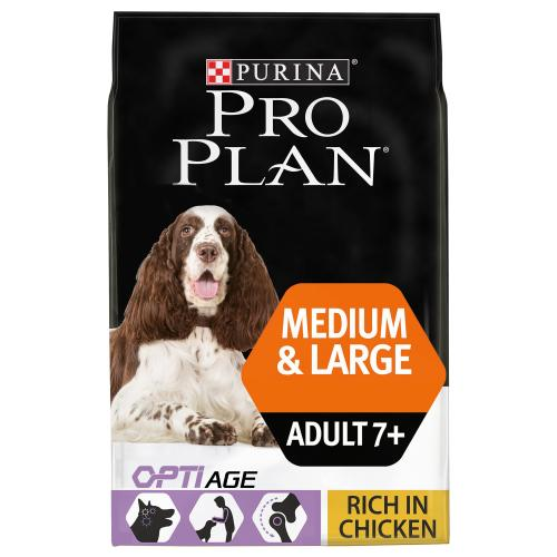 PRO PLAN OPTIAGE Chicken Senior 7+ Medium & Large Adult Dog Food