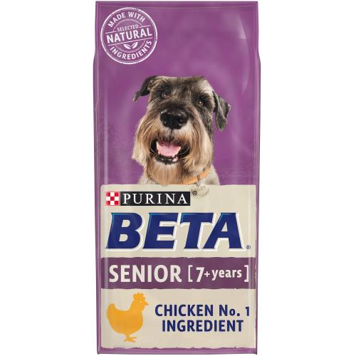 BETA Chicken Dry Senior Dog Food