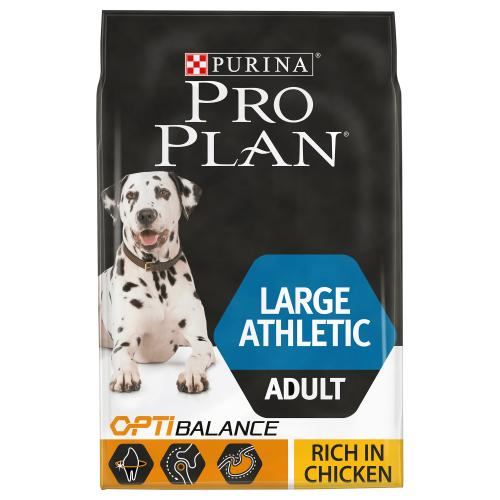 PRO PLAN OPTIBALANCE Chicken Large Athletic Adult Dog Food