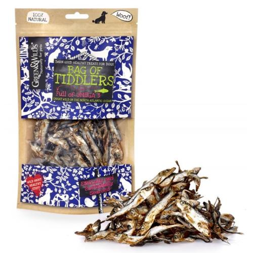 Green & Wilds Bag of Tiddlers Dog Treats