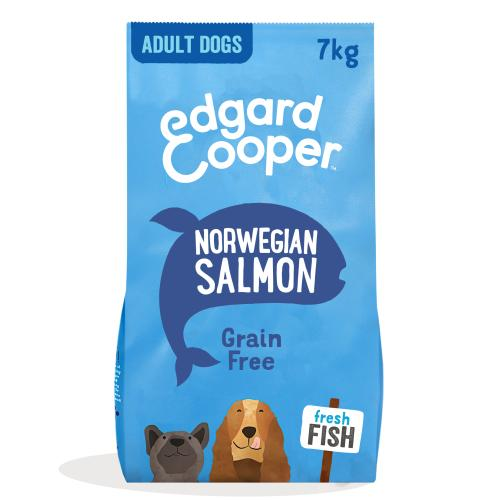 Edgard & Cooper Fresh Norwegian Salmon Grain Free Adult Dog Food
