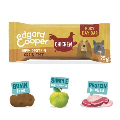 Edgard & Cooper Choice Chicken Busy Day Bar Dog Treat