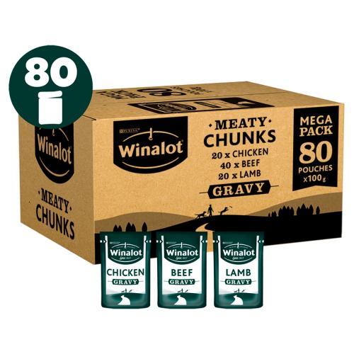 Winalot Meaty Chunks Mixed in Gravy Wet Adult Dog Food