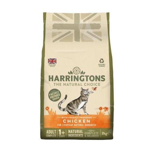 Harringtons Complete Chicken with Rice Dry Adult Cat Food