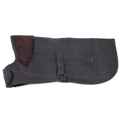 Barbour Wax Dog Coat in Classic Tartan