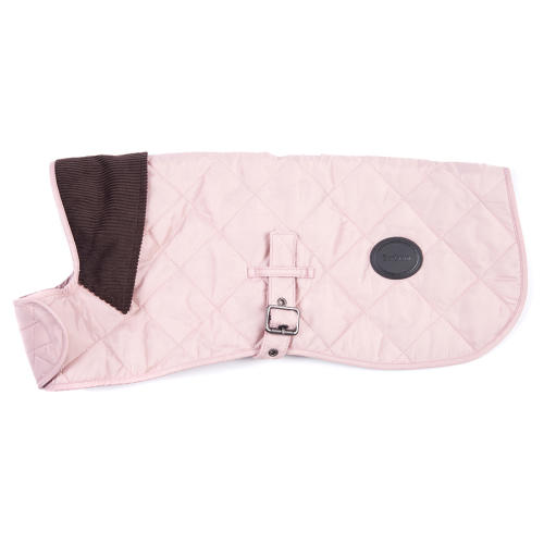 Barbour Quilted Dog Coat in Pink