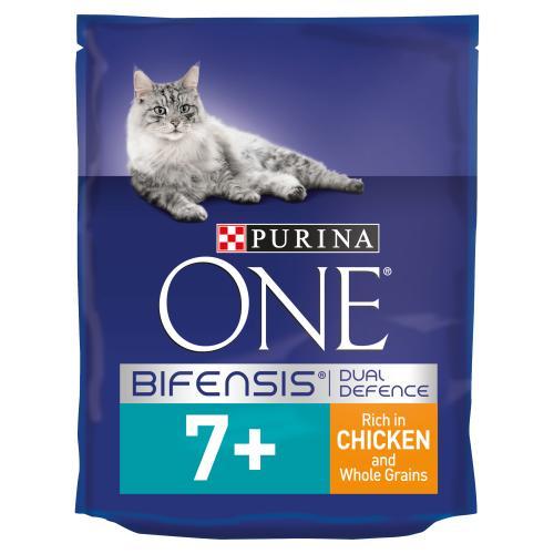 Purina ONE Chicken & Wholegrain Senior 7+ Cat Food