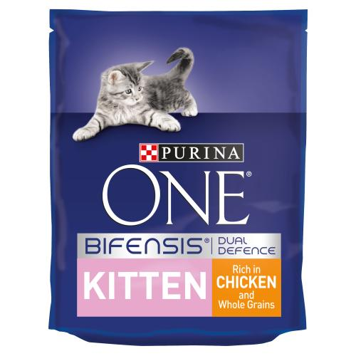 Purina ONE Chicken & Whole Grains Junior Cat Food