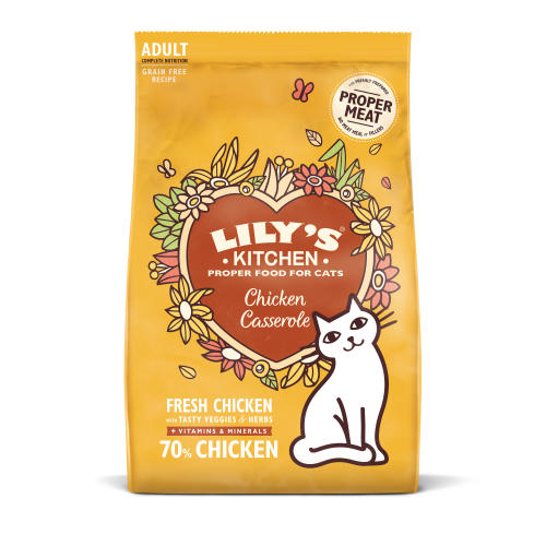 Lilys Kitchen Delicious Chicken Casserole Complete Adult Cat Food