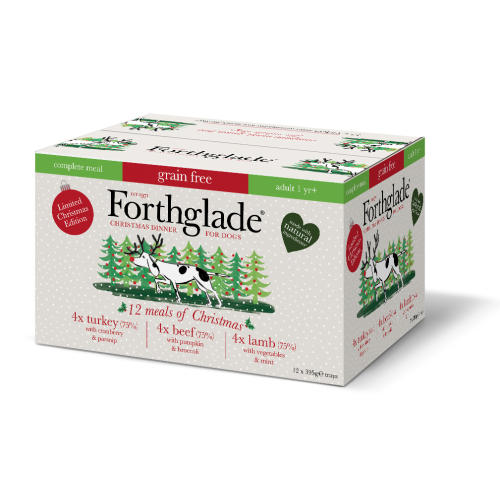 Forthglade Complete Christmas Variety Pack Adult Wet Dog Food