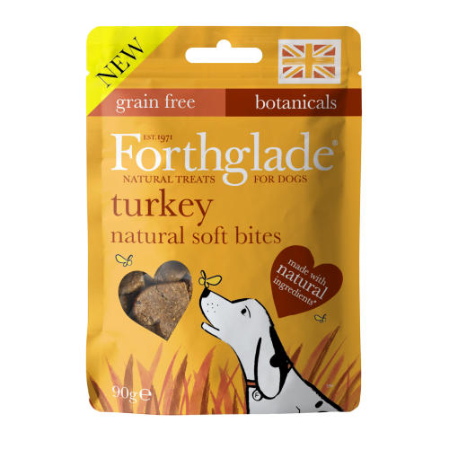 Forthglade Natural Soft Bites Turkey Dog Treats