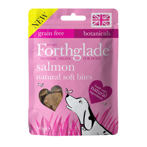 Forthglade Natural Soft Bites Salmon Dog Treats