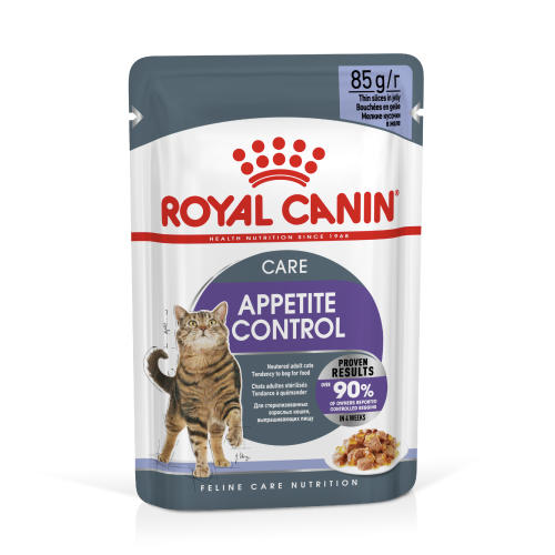Royal Canin Appetite Control in Jelly Adult Cat Food