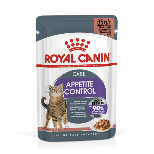 Royal Canin Appetite Control in Gravy Adult Cat Food