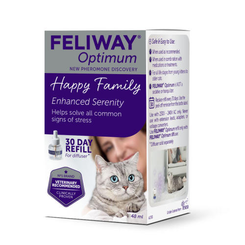 Feliway Optimum Cat Calming Diffuser Refill