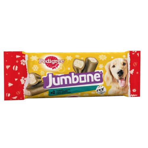 Pedigree Christmas Jumbone Medium Turkey Dog Treats