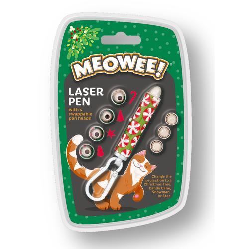 Meowee Christmas Laser Pen Cat Toy