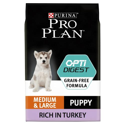 PRO PLAN OPTIDIGEST Turkey Sensitive Digestion Medium Puppy Food