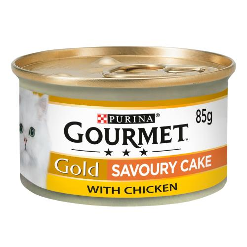 Gourmet Gold Savoury Cake Chicken Wet Adult Cat Food