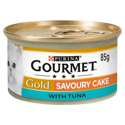Gourmet Gold Savoury Cake Tuna Wet Adult Cat Food