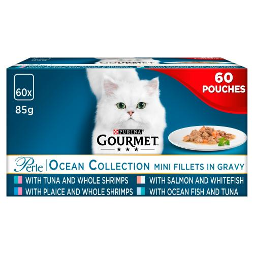 Gourmet Perle Chefs Ocean Collection Adult Cat Food Pouches