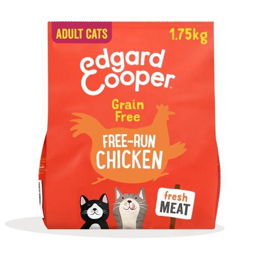 Edgard & Cooper Grain Free Chicken Dry Adult Cat Food