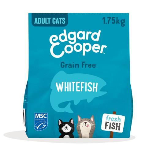 Edgard & Cooper Grain Free Whitefish Dry Adult Cat Food