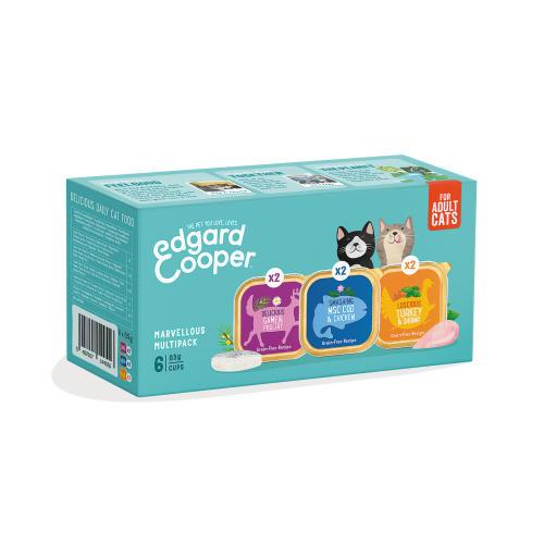 Edgard & Cooper Grain Free Multipack Wet Adult Cat Food