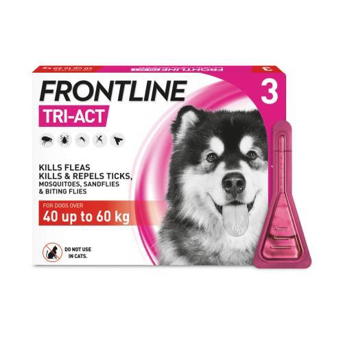 FRONTLINE Tri-Act Flea & Tick Treatment Dog