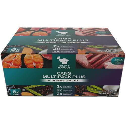 Billy & Margot Multipack Plus Wet Adult Dog Food