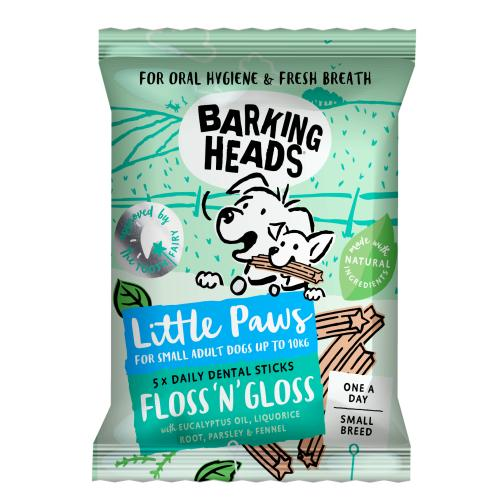 Barking Heads Floss n Gloss Dog Dental Chews