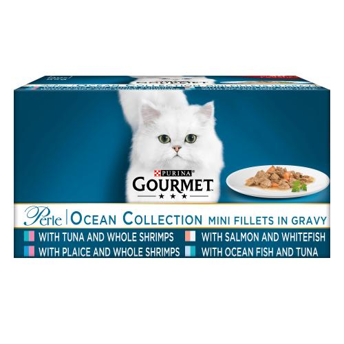 Gourmet Perle Chefs Ocean Collection Adult Cat Food