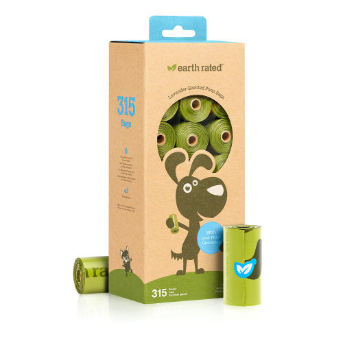 Earth Rated Unscented Biodegradable Poop Bags