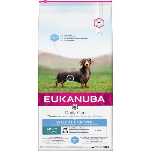 Eukanuba Weight Control Small & Medium Breed Adult Dog Food