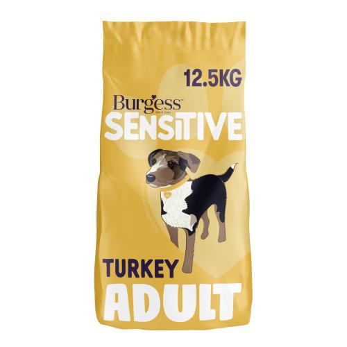 Burgess Complete Sensitive Turkey & Rice Adult Dog Food