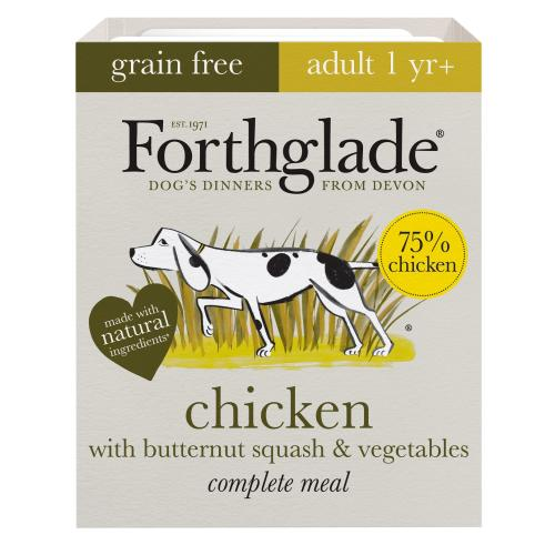Forthglade Complete Chicken with Butternut Squash & Veg Grain Free