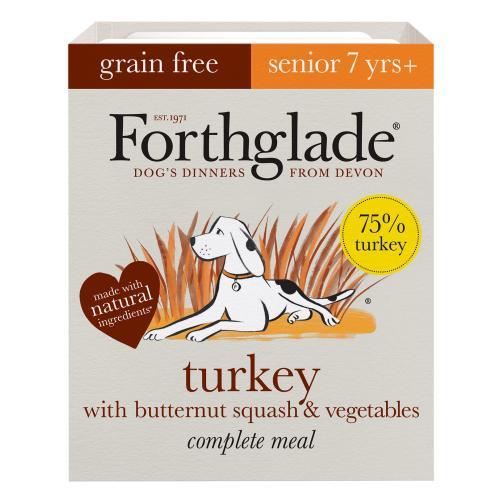 Forthglade Complete Grain Free Turkey & Veg Senior Dog Food