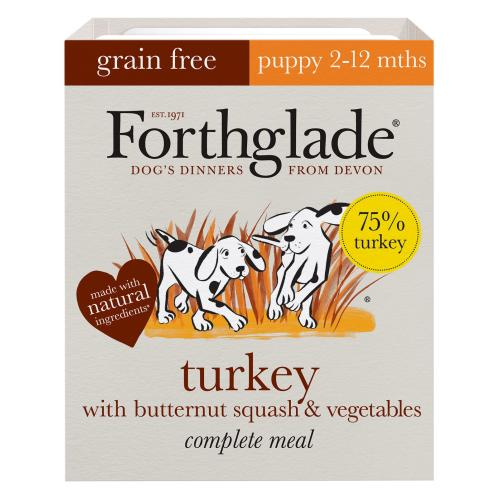 Forthglade Complete Grain Free Turkey, Butternut Squash & Veg Puppy Food