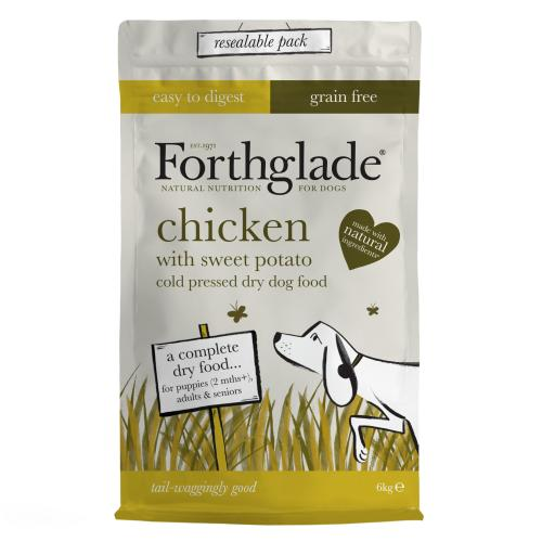 Forthglade Cold Pressed & Grain Free Chicken Dog Food